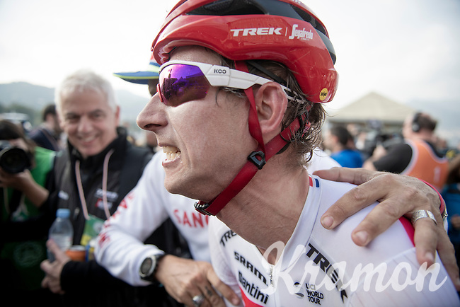 Bauke Mollema (NED/Trek-Segafredo) wins his first ever Monument Classic<br /> <br /> 113th Il Lombardia 2019 (1.UWT)<br /> 1 day race from Bergamo to Como (ITA/243km)<br /> <br /> ©kramon