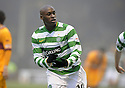 12/12/2009  Copyright  Pic : James Stewart.sct_jspa07_motherwell v celtic  . :: MARC ANTOINE FORTUNE CELEBRATES AFTER HE SCORES CELTIC'S WINNING THIRD :: .James Stewart Photography 19 Carronlea Drive, Falkirk. FK2 8DN      Vat Reg No. 607 6932 25.Telephone      : +44 (0)1324 570291 .Mobile              : +44 (0)7721 416997.E-mail  :  jim@jspa.co.uk.If you require further information then contact Jim Stewart on any of the numbers above.........