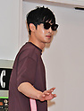Kim Hyun-joong arrives at Tokyo International Airport