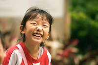 This happy young girl is one of the few children I met on a troll through Hong Kong Park. The central park has the largest aviary in Hong Kong's largest aviary and The Vantage Point, a 30-metre tower, which gives visitors a panoramic view from the top..