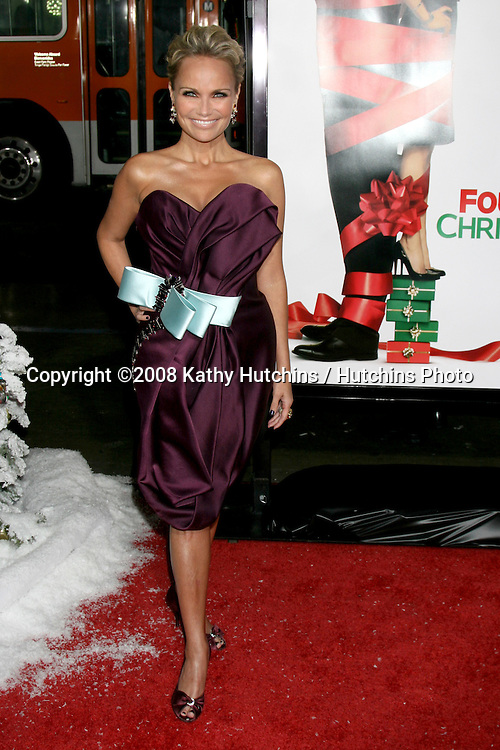 Kristin Chenoweth arriving at  the  Premiere of Four Christmases at Grauman's Chinese Theater in Los Angeles, CA.November 20, 2008.©2008 Kathy Hutchins / Hutchins Photo....