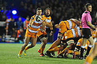 Shaun Venter of Toyota Cheetahs in action during the Guinness Pro14 Round 5 match between Cardiff Blues and Toyota Cheetahs at the Cardiff Arms Park Stadium in Cardiff, Wales, UK. Friday 28 September 2018
