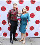 Wisconsin Gubernatorial Candidate Kelda Roys with her husband Dan Reed and daughter attends the 9th Annual LILLY Awards at the Minetta Lane Theatre on May 21,2018 in New York City.