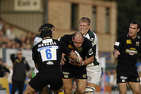Wycombe, Great Britain, Wasps,Lawrence DALLAGLIO, during the EDF Energy, Anglo Welsh, rugby Cup match, London Wasps vs London Irish,  at Adams Park, England, 08/10/2006. [Photo, Peter Spurrier/Intersport-images]....