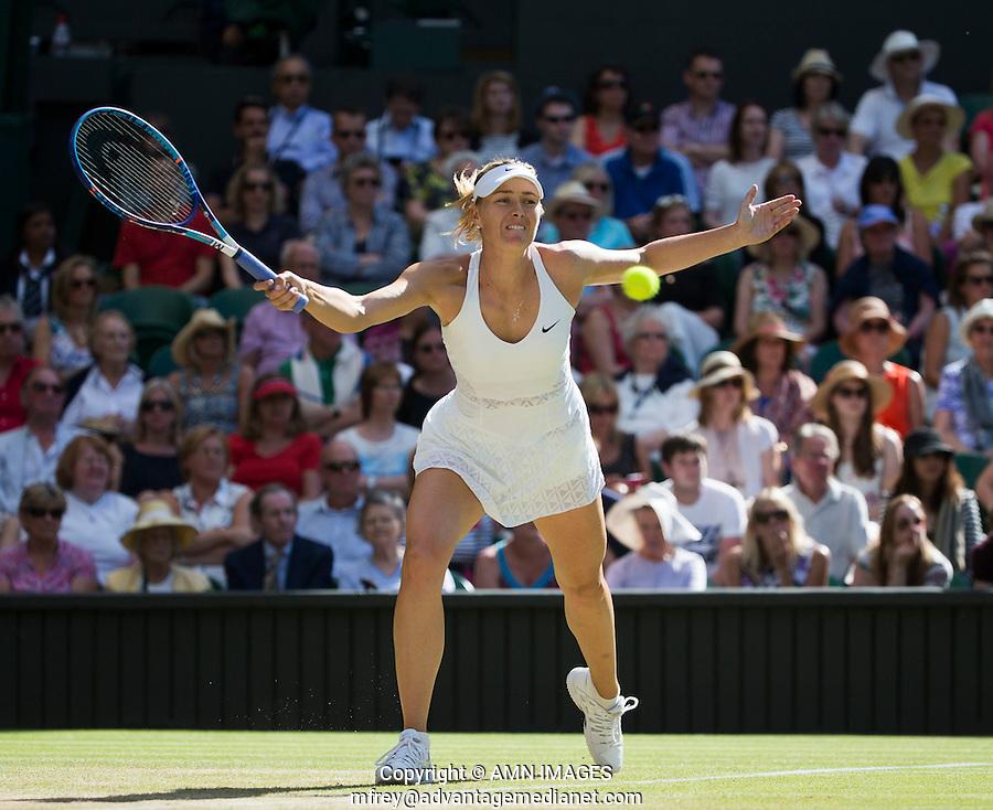 MARIA SHARAPOVA (RUS)<br /> <br /> TENNIS - THE CHAMPIONSHIPS - WIMBLEDON 2015 -  LONDON - ENGLAND - UNITED KINGDOM - ATP, WTA, ITF <br /> <br /> &copy; AMN IMAGES23