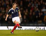 Darren Fletcher fails to convert his penalty kick