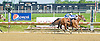 Grand Sensation winning before being Disqualified.at Delaware Park on 5/24/12