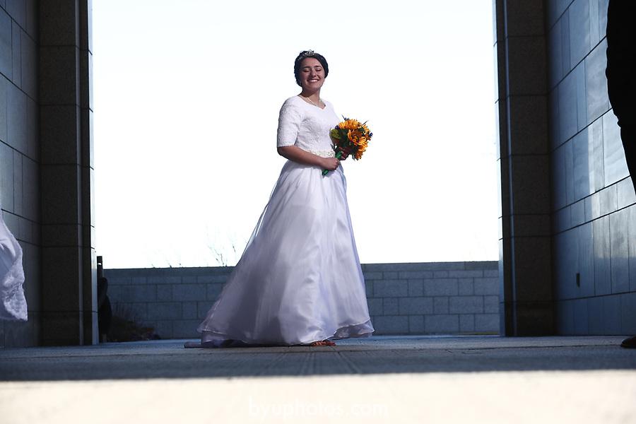 JSW 1711 Anderson Wedding 677<br /> <br /> JSW 1711 Anderson Wedding<br /> <br /> Derek and Becky Anderson - Draper Temple<br /> <br /> December 28, 2017<br /> <br /> Jaren Wilkey/BYU<br /> <br /> &copy; BYU PHOTO 2017<br /> All Rights Reserved<br /> photo@byu.edu  (801)422-7322