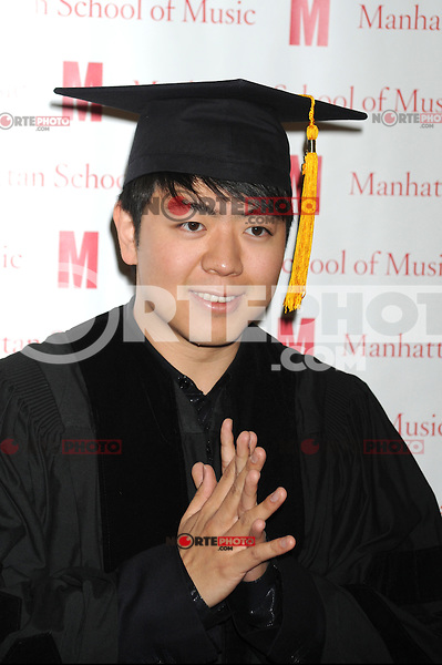 Pianist Lang Lang receives an honorary Doctor of Musical Arts degree at the 2012 Commencement of the Manhattan School of Music at Riverside Church in New York City. May 11, 2012. © mpi01/MediaPunch Inc.