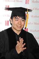 Pianist Lang Lang receives an honorary Doctor of Musical Arts degree at the 2012 Commencement of the Manhattan School of Music at Riverside Church in New York City. May 11, 2012. ©mpi01/MediaPunch Inc.