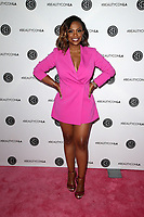 LOS ANGELES, CA - AUGUST 10: Kandi Burruss, at Beautycon Festival Los Angeles 2019 - Day 1 at Los Angeles Convention Center in Los Angeles, California on August 10, 2019.  <br /> CAP/MPI/SAD<br /> ©SAD/MPI/Capital Pictures