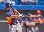5 March 2013: Houston Astros infielder Jose Altuve in action during a Spring Training game against the Washington Nationals at Space Coast Stadium in Viera, Florida. The Nationals defeated the Astros 7-1 in Grapefruit League play. Mandatory Credit: Ed Wolfstein Photo *** RAW (NEF) Image File Available ***