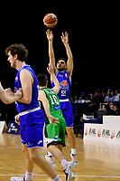 Saints' Shea Ili in action during the NBL - Cigna Saints v Manawatu Jets at TSB Bank Arena, Wellington, New Zealand on Sunday 16 June 2019. <br /> Photo by Masanori Udagawa. <br /> www.photowellington.photoshelter.com