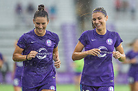 Orlando, FL - Saturday July 01, 2017: Ali Krieger, Alex Morgan during a regular season National Women's Soccer League (NWSL) match between the Orlando Pride and the Chicago Red Stars at Orlando City Stadium.