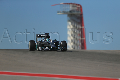 31.10.2014. Austin, Texas, USA. F1 Grand Prix of America, practise and inpsection day.  Mercedes AMG Petronas F1 driver Nico Rosberg during friday practice session