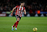 George Baldock of Sheffield United during the Premier League match at Bramall Lane, Sheffield. Picture date: 5th December 2019. Picture credit should read: James Wilson/Sportimage