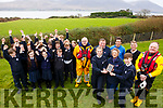 The RNLI visit Spa National School on Friday last for a special presentation and workshops to highlight the work they do and to mark the Royal visit to Fenit last year. <br /> Front right, Students Rosie Falvey and Cian O&rsquo;Gara accept a presentation from Jan Bolt of the RNLI  with Kevin Honeyman (RNLI), Mike O&rsquo;Connor (RNLI), Niall Morgan, Peter Lenihan (Principal) and Guy Waugh (RNLI).