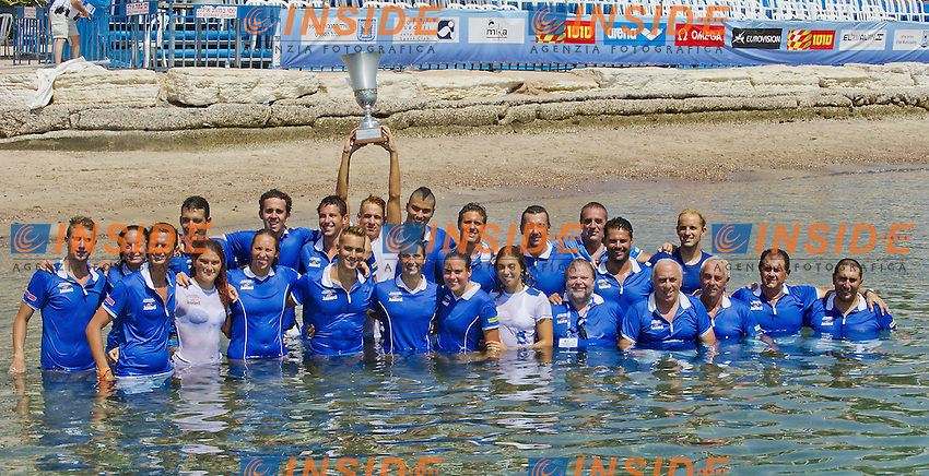 EILAT, Israel (ISR) 06 - 11 September 2011.European Open Water Swimming Championships.day 04.Italy - winner of ranking for Nations.Photo Insidefoto Giorgio Scala