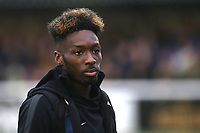 Blair Turgott, Maidstone's leading goalscorer this season , was forced to miss the match with an injury during Maidstone United vs Oldham Athletic, Emirates FA Cup Football at the Gallagher Stadium on 1st December 2018