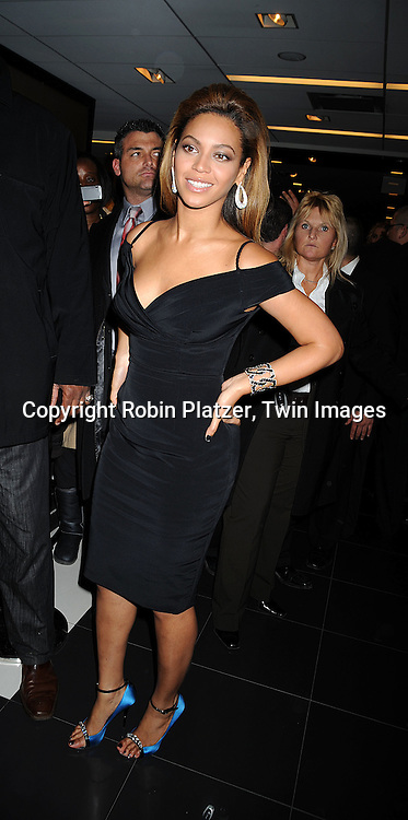 "Beyonce Knowles ..at an appearance at Bloomingdales on October 28, 2008  to celebrate the new House of Dereon dress collection inspired by the upcoming movie ""Cadillac Records"" starring Beyonce as blues legend, Ette James.....Robin Platzer, Twin Images"