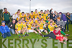 A triumphant Skellig Rangers side who defeated Saint Mary's 2-09 to 0-07 on Saturday last in Valentia in the South Kerry Junior Championship.