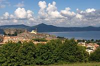 Italien, Latium, Bracciano: am Lago di Bracciano | Italy, Lazio, Bracciano: at Lago di Bracciano