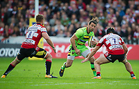 Northampton Saints' Ben Foden in action <br /> <br /> Photographer Ashley Western/CameraSport<br /> <br /> Aviva Premiership - Gloucester v Northampton Saints - Saturday 7th October 2017 - Kingsholm Stadium - Gloucester<br /> <br /> World Copyright &copy; 2017 CameraSport. All rights reserved. 43 Linden Ave. Countesthorpe. Leicester. England. LE8 5PG - Tel: +44 (0) 116 277 4147 - admin@camerasport.com - www.camerasport.com