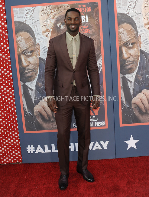 WWW.ACEPIXS.COM<br /> <br /> May 10 2016, LA<br /> <br /> Mo McRae arriving at the premiere of HBO's 'All The Way' at Paramount Studios on May 10, 2016 in Hollywood, California.<br /> <br /> By Line: Peter West/ACE Pictures<br /> <br /> <br /> ACE Pictures, Inc.<br /> tel: 646 769 0430<br /> Email: info@acepixs.com<br /> www.acepixs.com