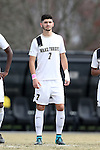 29 November 2015: Wake Forest's Jon Bakero (ESP). The Wake Forest University Demon Deacons hosted the Indiana University Hoosiers at Spry Stadium in Winston-Salem, North Carolina in a 2015 NCAA Division I Men's Soccer Tournament Third Round match. Wake Forest won the game 1-0.