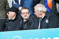 Luton Town Chief Exective, Gary Sweet (centre) during the Sky Bet League 2 match between Barnet and Luton Town at The Hive, London, England on 28 March 2016. Photo by David Horn.