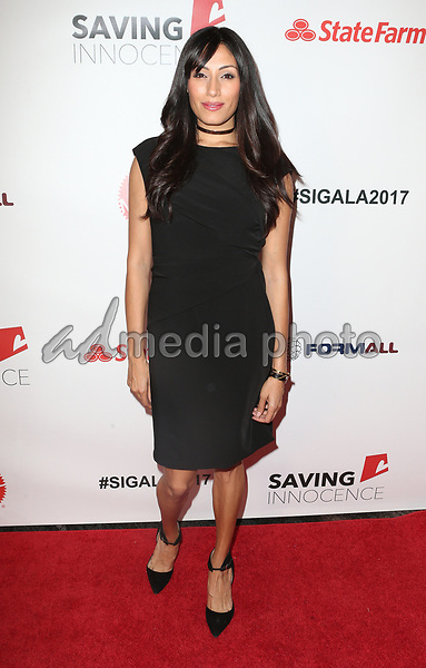 30 September 2017 - Los Angeles, California - Tehmina Sunny. 6th Annual Saving Innocence Gala held at Loews Hollywood Hotel. Photo Credit: F. Sadou/AdMedia