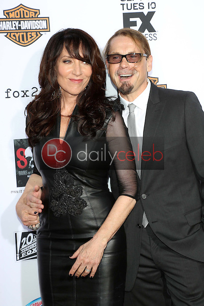 Katey Sagal, Kurt Sutter<br />