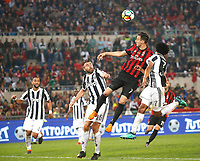 Nikola Kalinic  during the  Coppa Italia ( Tim Cup) final soccer match,  Ac Milan  - Juventus Fc       at  the Stadio Olimpico in Rome  Italy , 09 May 2018