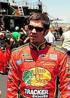 Apr 24, 2009; Talladega, AL, USA; NASCAR Sprint Cup Series driver Martin Truex Jr during practice for the Aarons 499 at Talladega Superspeedway. Mandatory Credit: Mark J. Rebilas-
