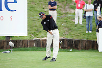 Jyoti Randhawa tees off on the 18th hole the final round of the Open de Espana in Madrid...Photo NEWSFILE/Manus O'Reilly.(Photo credit should read Manus O'Reilly/NEWSFILE)....This Picture has been sent you under the condtions enclosed by:.Newsfile Ltd..The Studio,.Millmount Abbey,.Drogheda,.Co Meath..Ireland..Tel: +353(0)41-9871240.Fax: +353(0)41-9871260.GSM: +353(0)86-2500958.email: pictures@newsfile.ie.www.newsfile.ie.FTP: 193.120.102.198..