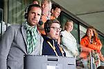 DEN HAAG -WORLD CUP Hockey 2014.  perstribune. Belgische journalist Floris Geerts. COPYRIGHT  KOEN SUYK