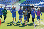 Getafe's players during training session. February 19,2020.(ALTERPHOTOS/Acero)
