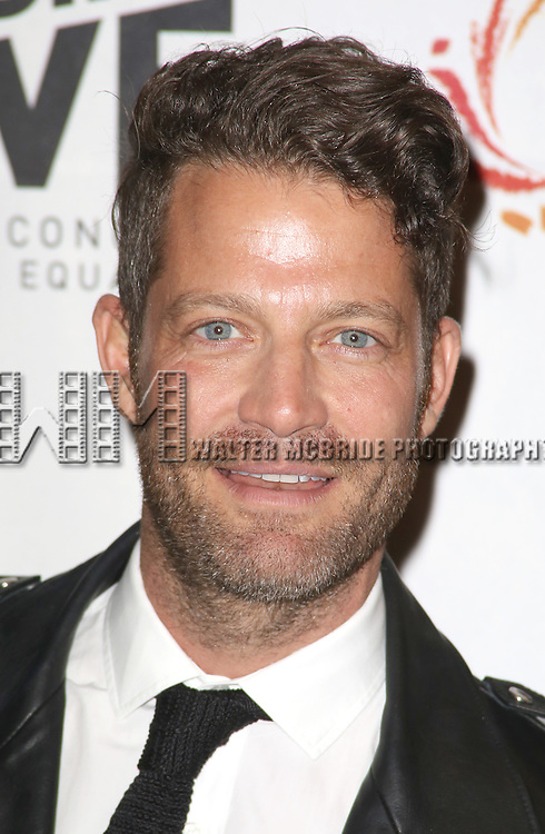 Nate Berkus backstage at 'Uprising Of Love: A Benefit Concert For Global Equality' at the Gershwin Theatre on September 15, 2014 in New York City.