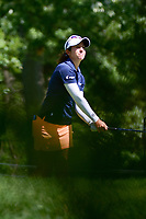 Marina Alex (USA) watches her tee shot on 16 during Saturday's round 3 of the 2017 KPMG Women's PGA Championship, at Olympia Fields Country Club, Olympia Fields, Illinois. 7/1/2017.<br /> Picture: Golffile | Ken Murray<br /> <br /> <br /> All photo usage must carry mandatory copyright credit (&copy; Golffile | Ken Murray)
