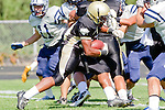 Palos Verdes, CA 09/09/11 - Okuoma Idah (Peninsula #24) in action during the North Torrance-Peninsula Panthers varsity football game.