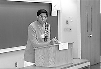 "Indra K. Nooyi, Chairman and Chief Executive Officer, PepsiCo. speaking at ""Women in Business in a Global Economy"" Yale School of Management Syposium 4 April 1997"