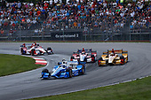 Verizon IndyCar Series<br /> Honda Indy 200 at Mid-Ohio<br /> Mid-Ohio Sports Car Course, Lexington, OH USA<br /> Sunday 30 July 2017<br /> Scott Dixon, Chip Ganassi Racing Teams Honda Ryan Hunter-Reay, Andretti Autosport Honda<br /> World Copyright: Michael L. Levitt<br /> LAT Images