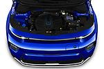 Car Stock 2020 KIA e-Soul Premium 5 Door SUV Engine  high angle detail view