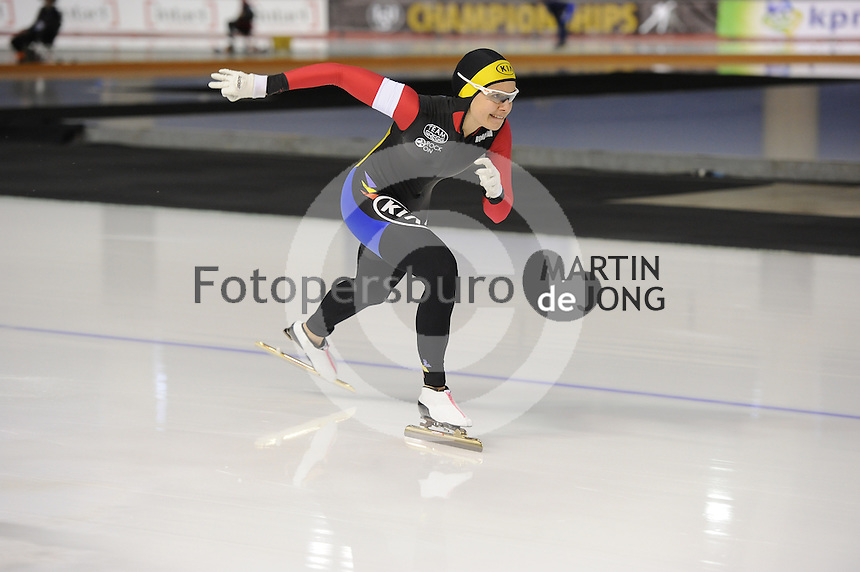 SPEEDSKATING: CALGARY: Olympic Oval, 25-02-2017, ISU World Sprint Championships, 500m Ladies, Alexandra Ianculescu (ROU), ©photo Martin de Jong