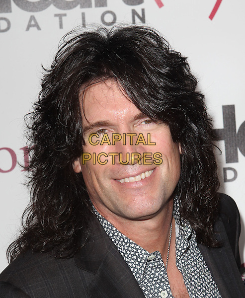 Tommy Thayer.The Heart Foundation Gala Held at The Hollywood Palladium, Hollywood, California, USA..May 10th, 2012.headshot portrait black grey gray print shirt.CAP/ADM/KB.©Kevan Brooks/AdMedia/Capital Pictures.