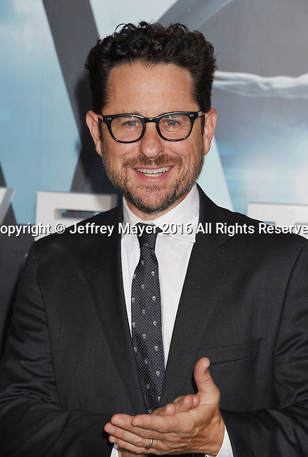 HOLLYWOOD, CA - SEPTEMBER 28: Executive producer J.J. Abrams attends the premiere of HBO's 'Westworld' at TCL Chinese Theater on September 28, 2016 in Hollywood, California.