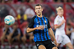 FC Internazionale Forward Ivan Perisic in action during the International Champions Cup match between FC Bayern and FC Internazionale at National Stadium on July 27, 2017 in Singapore. Photo by Marcio Rodrigo Machado / Power Sport Images