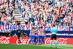 Atletico de Madrid's celebrating a goal during a match of La Liga Santander at Vicente Calderon Stadium in Madrid. September 17, Spain. 2016. (ALTERPHOTOS/BorjaB.Hojas)