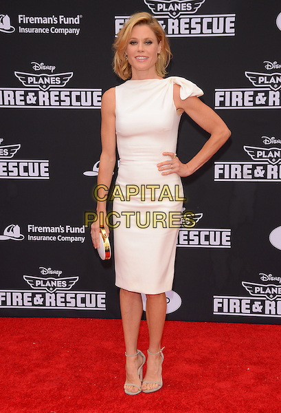 15 July 2014 - Hollywood, California - Julie Bowen. Arrivals for the premiere of Disney's &quot;Planes: Fire and Rescue&quot; held at the El Capitan Theater in Hollywood, Ca. <br /> CAP/ADM/BT<br /> &copy;BT/ADM/Capital Pictures