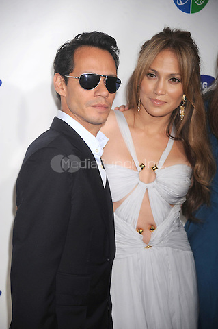 Marc Anthony and Jennifer Lopez at Samsung's 9th Annual Four Seasons of Hope Gala at Cipriani Wall Street  in New York City. June 15, 2010. Credit: Dennis Van Tine/MediaPunch